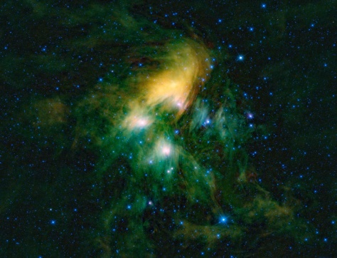 Image: Pleiades cluster