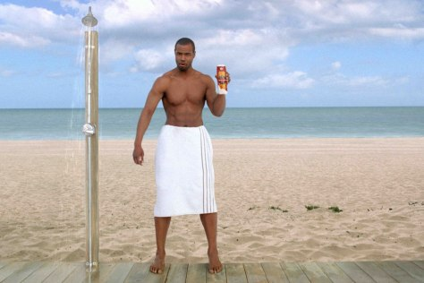 Image: Isaiah Mustafa as the Old Spice Man