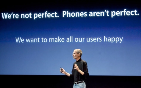 Image: Apple Holds Press Conference On Its iPhone 4