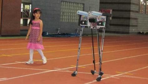 Image: Cornell's Ranger robot