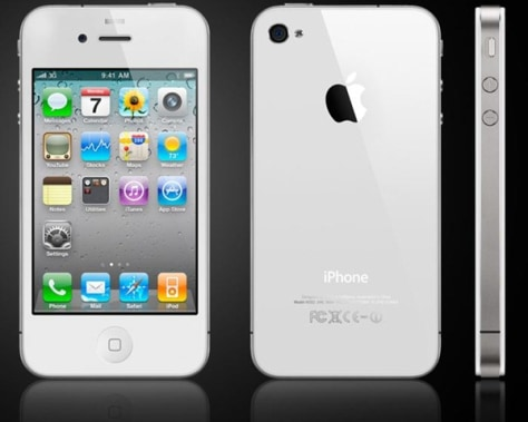 Image: White iPhone 4
