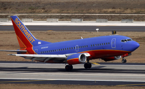 Image: A Southwest Airlines, Boeing 737-500