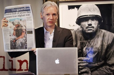 Image: Julian Assange of WikiLeaks