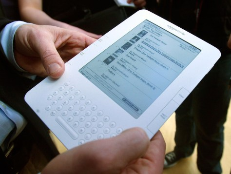 Image: Amazon's Kindle 2 e-ink e-book reader