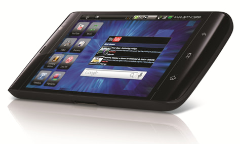 "Image: The Dell ""Streak"" tablet"