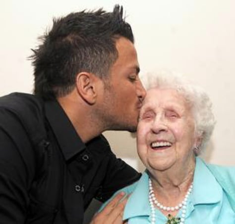 Image: Peter Andre and Ivy Bean