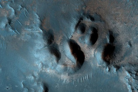 Image: The Nili Fossae region of Mars