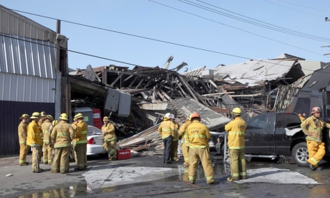 Image: Building explosion in Los Angeles