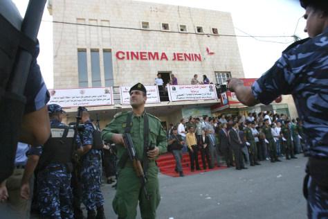 Image: 'Cinema Jenin' restored and reopened