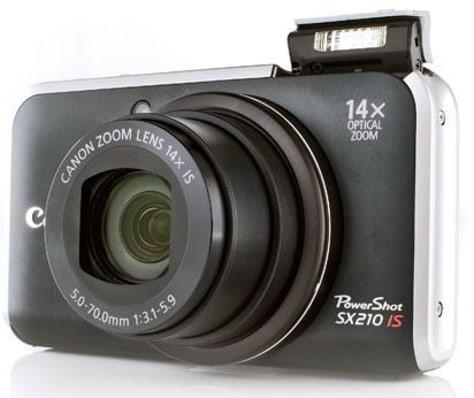 Image: Canon PowerShot SX210