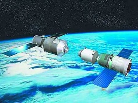 Image: Tiangong and Shenzhou