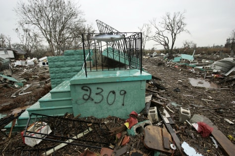 Image: Destroyed Louisiana home