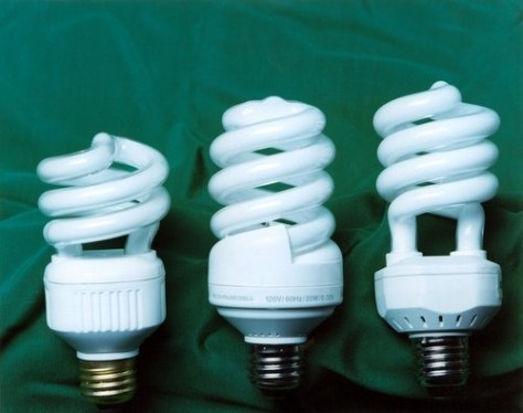 Image: Switch to compact fluorescent lights