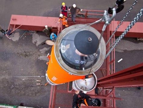 Image: Copenhagen Suborbitals' suborbital rocket
