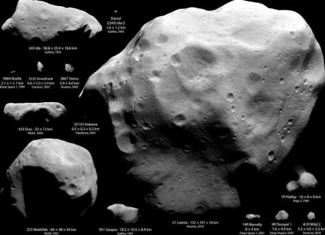 Image: Near-Earth objects