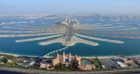 Image: Aerial view of Palm Jumeirah in Dubai