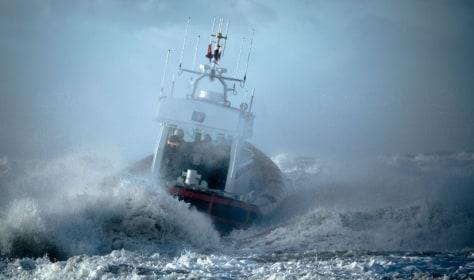Image: Ship storm