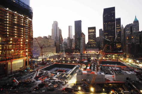 Image: World Trade Center site in New York City