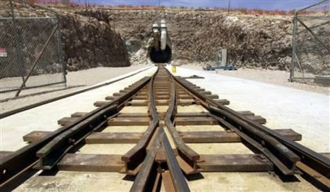 Image: Yucca Mountain in Nevada,