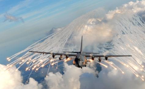 Image: AC-130H/U gunship