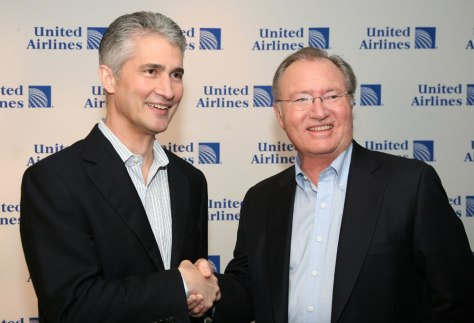 Image: United and Continental Announce Merger