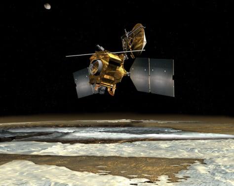 Image: Artist's concept of NASA's Mars Reconnaissance Orbiter