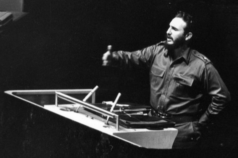 Image: Castro speaking