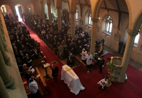Image: Funeral for Eileen Nearne