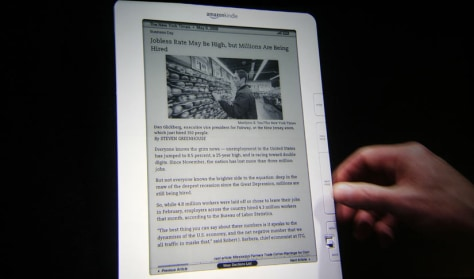 Image: Kindle e-reader