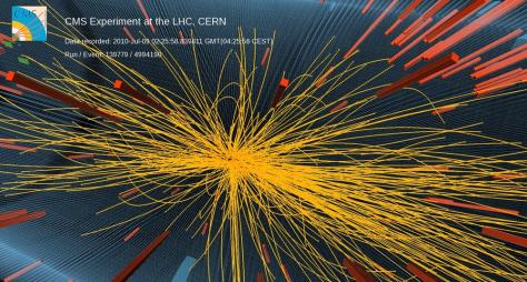 Image: CMS collision