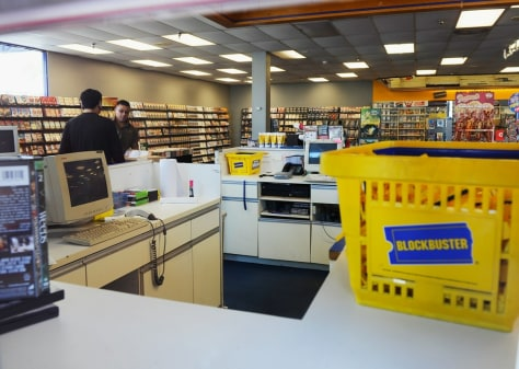 Image: Blockbuster store