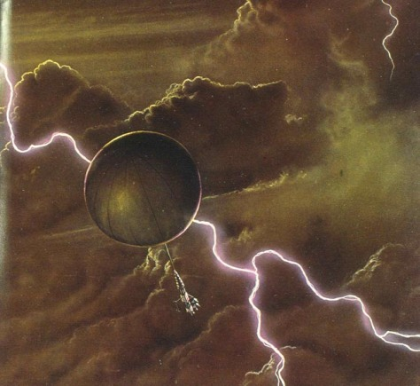 Image: Artist's impression of a future aerobot in Venus atmosphere