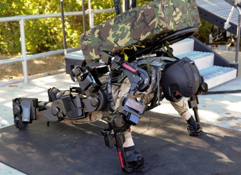 Image: 2nd Generation Exoskeleton Robotic Suit Gallery