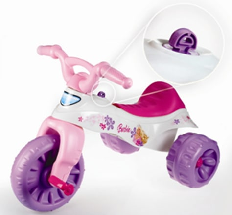 Image: Recall of Fisher Price Trikes and Tough Trikes toddler tricycles due to risk of potential injury on the ignition key