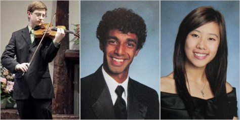 Image: Tyler Clementi, Dharun Ravi and Molly Wei