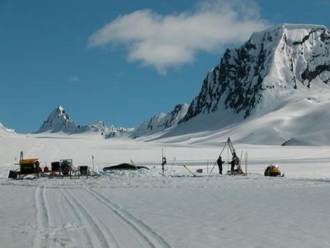 Image: Glacier Drilling