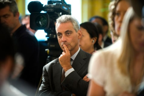 Image: White House chief of staff Rahm Emanuel