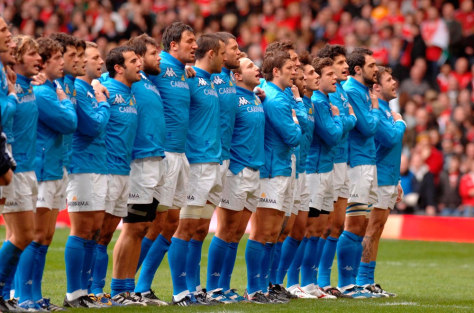 Image: Italy's national team