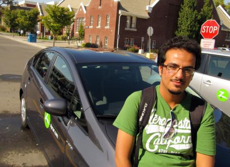 Image: Boise State University student Wayel Alwayel