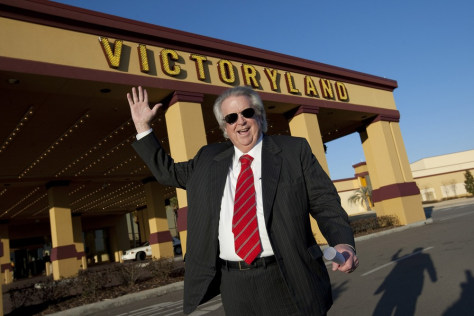 Image: Milton McGregor at VictoryLand