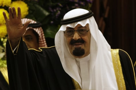 Image: Abdullah bin Abdul Aziz al-Saud