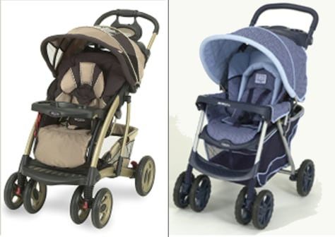 4 deaths prompt graco stroller recall health children s health rh nbcnews com Red and Green Plaid Graco Comfort Tracker Stroller Graco Stroller Diagram