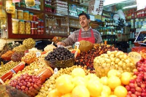 Image: Tangier's market