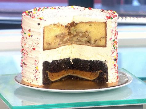 Is it a cake or a pie? It's both, and it's 1,800 calories a slice