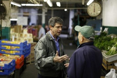 Image: Joe Sestak campaigning in Philadelphia
