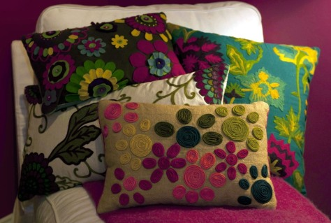 Image: Pillows in a mom cave
