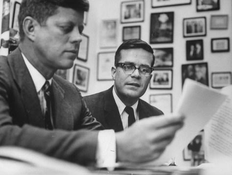 Image: John F. Kennedy;Theodore C. Sorensen