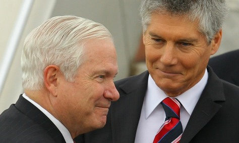 Image: Robert Gates, Stephen Smith