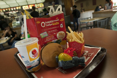 Image: San Francisco Votes To Ban McDonalds Happy Meals