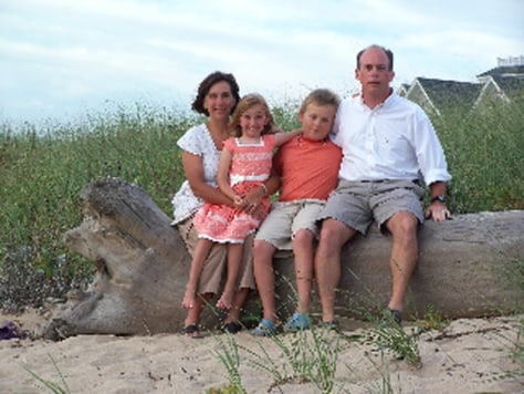 Image: Kim Schmidl-Gagne and family